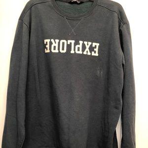 Explore North Face Sweatshirt Size XL
